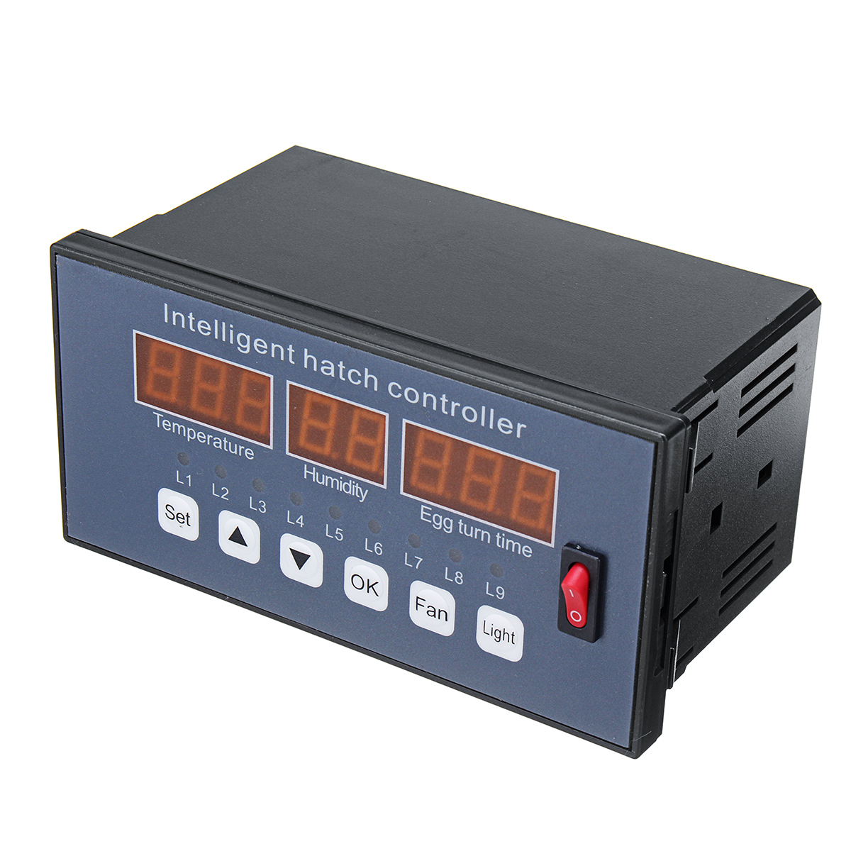 180-240V XM-16 Automatic Temperature Humidity Incubator Controller LED Color In Industrial Incubator