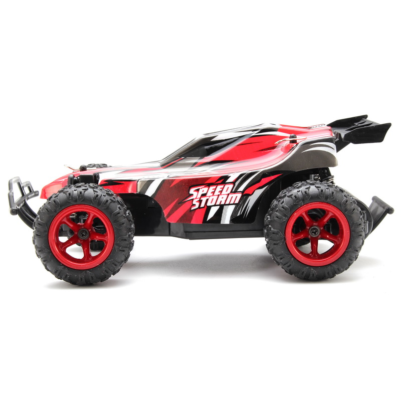 PXtoys 9600 2.4G 1/22 RC Buggy Speed Storm Red Blue Remote Control Car