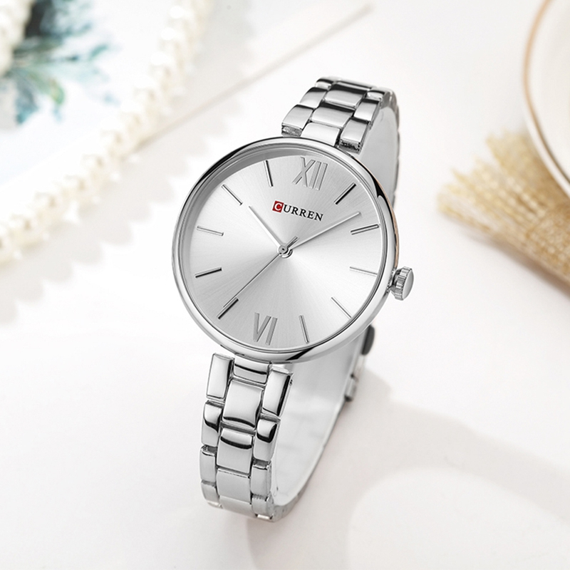 CURREN 9017 Casual Style Ladies Wrist Watch