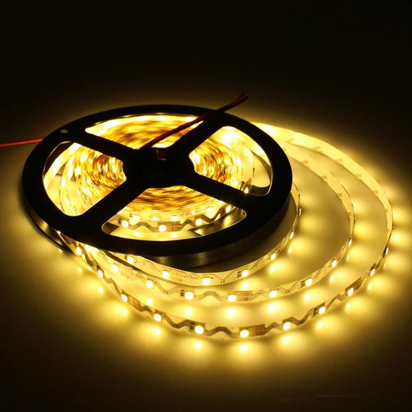 5M Ultra Bright S Shape SMD 2835 300 LED White/Warm White LED Strip Flexible Tape Light 12V