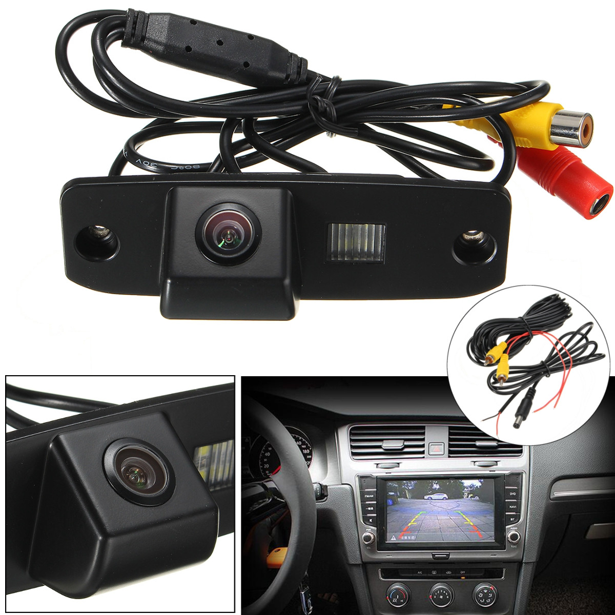 Car Rear View Camera Back Up Reverse For Kia Sorento Opirus Carens