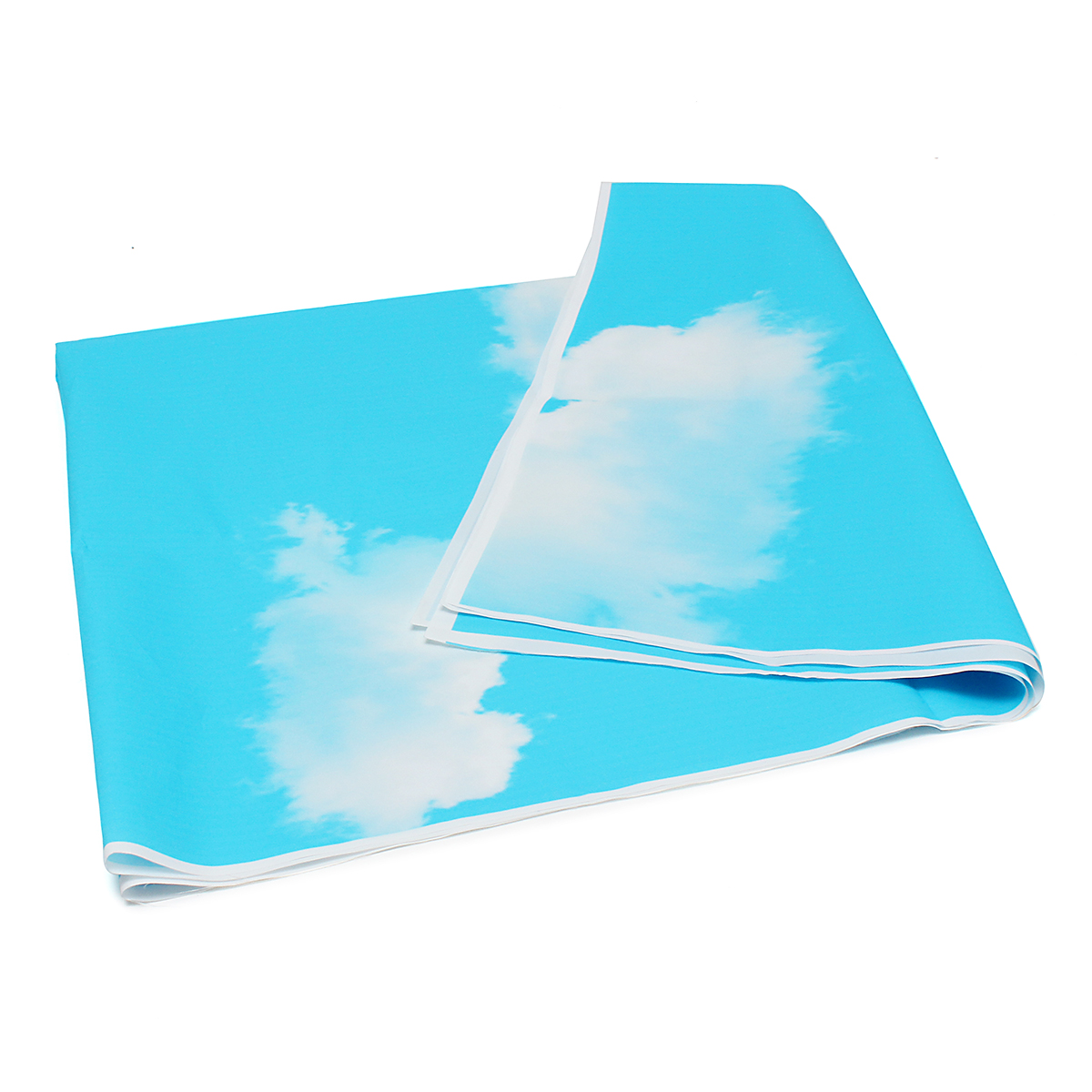 3x5ft Vinyl Outdoor Blue Sky White Cloud Photography Background Backdrop Studio Prop