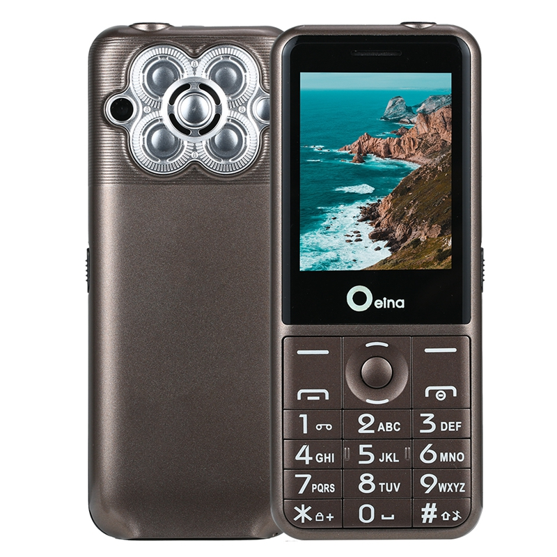 OEINA T18 2.4 Inch 2500mAh Big Battery 3 Sim Card Power Bank Bluetooth Flashlight Feature Phone
