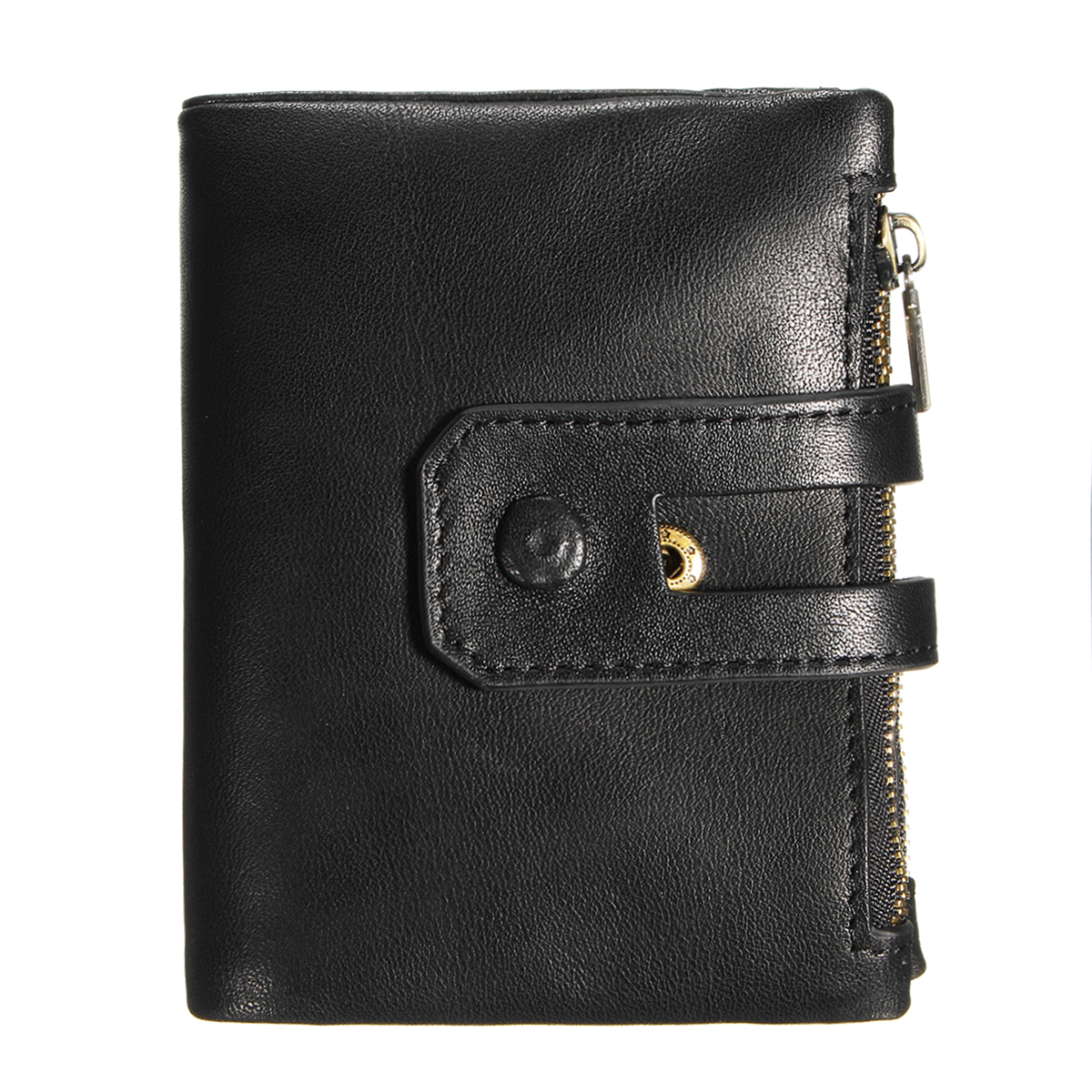 Outdoor Travel Men Slim RFID Leather Bifold Wallet Card Holder Purse Billfold Pocket