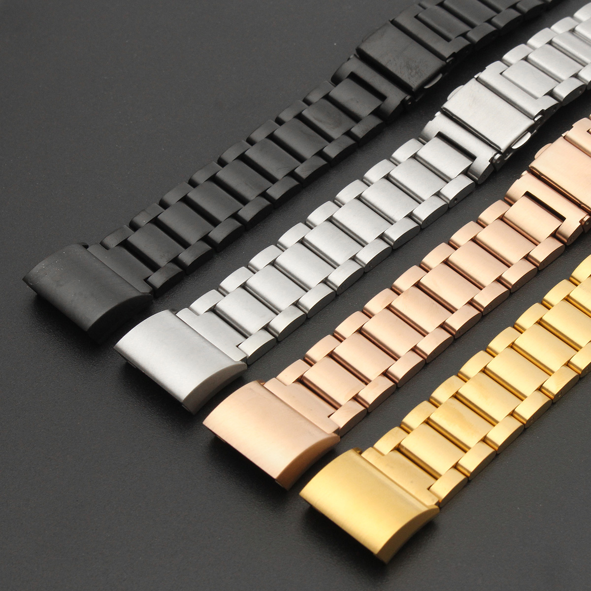 Classy Replacement Strap For Fitbit Charge 2 Tracker Stainless Steel Bracelet Wristband