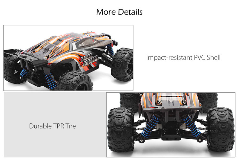 PXtoys 9302 1/18 2.4G 4WD High Speed Racing RC Car Off-Road Truggy Vehicle RTR Toys