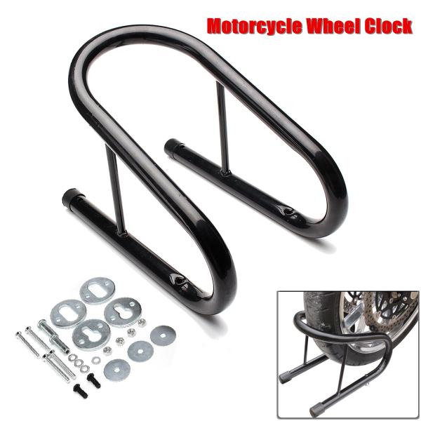 SKU5.5inch Motorcycle Wheel Chock Kit Scooter Bike Stand Trailer Car Mount MCCH5.5