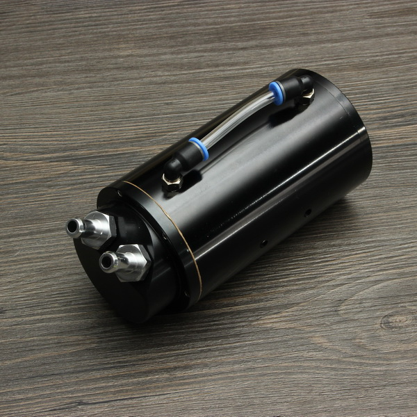 Aluminum Racing Auto Oil Catch Tank Can For Honda
