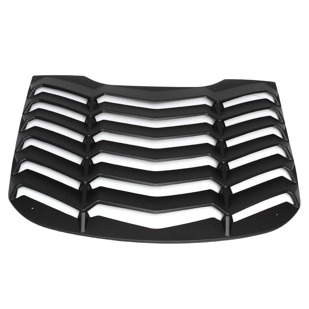 For Ford Mustang 2015-17 4D Rear Window Windshield Louvers Vent Cover Sun