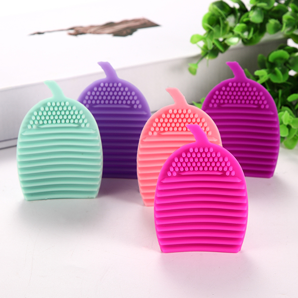 8 Colors Corn-shaped Makeup Brushes Cleaner Silicone Cosmetic Brush Cleaning Tool