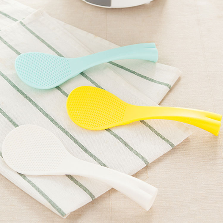 Creative ABS Fishtail Kvertical Not Sticky Rice Ladle Kitchen Spoons Cooking Tools