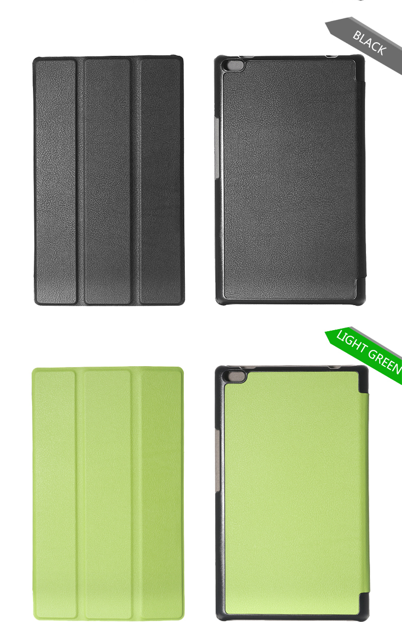 Tri Fold Case Cover For Lenovo TAB4 8 TB-8504F/N