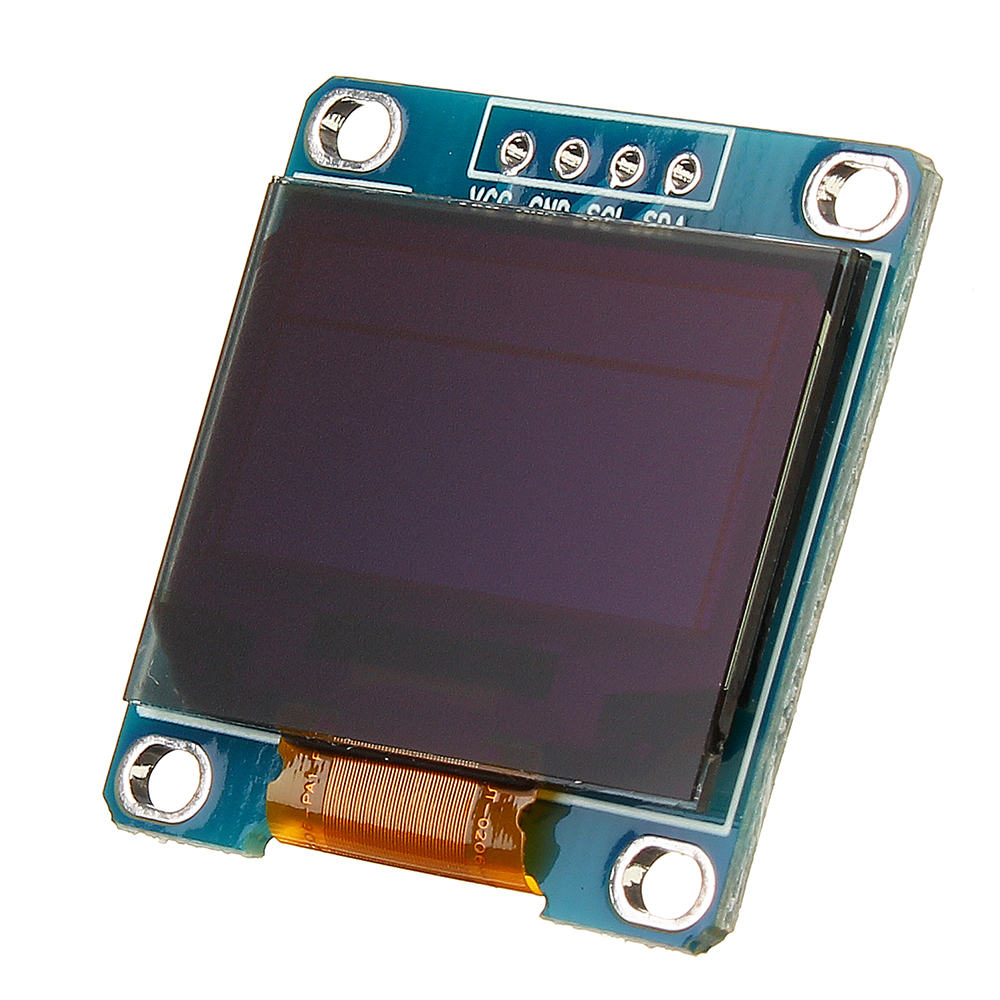 0.96 Inch 4Pin Blue Yellow IIC I2C OLED Display Module For Arduino