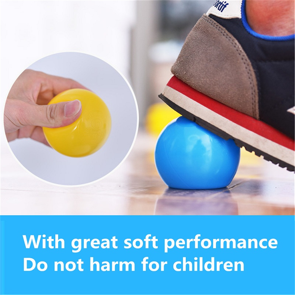 5.5/7/8cm Baby Kid Pit Toy Swim Colorful Soft Plastic Ocean Ball 50/100/200PCS Novelties Toys