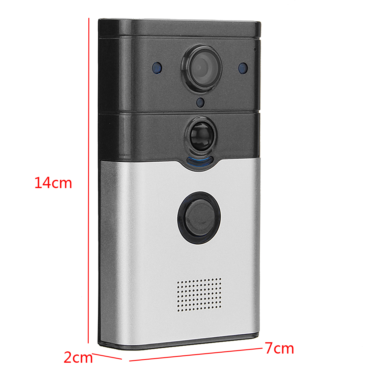 Wireless WiFi Smart Home HD Video DoorBell Camera Phone Ring Intercom System