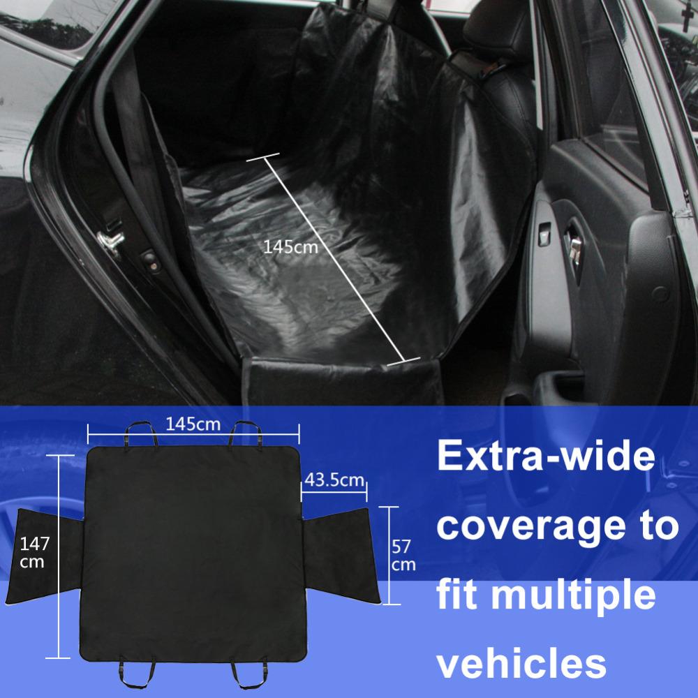 Pet Dog Car Seat Cushion Cover Fold Waterproof Back Seat Cover Hammock Convertible Seat Pet Mat