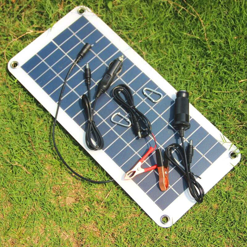 18V 10.5W Polysilicon Solar Panel Charger Solar Board For Car Mobile Phone Ship