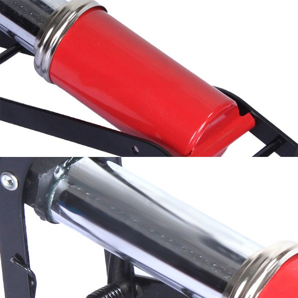 Car Bike Motorcycle High Pressure Single Tube Pump For Basketball Toys Pedaled Portable Inflatable