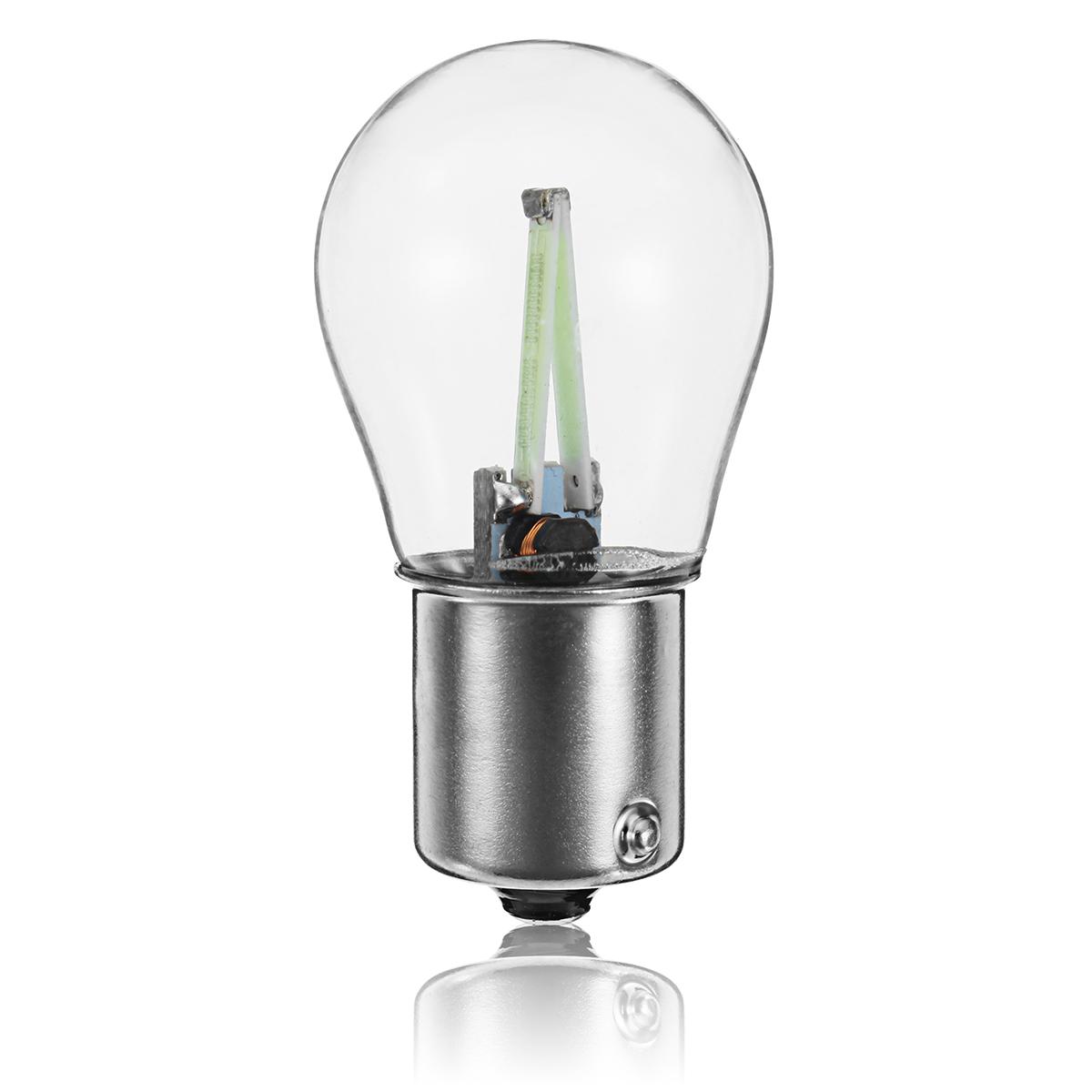 2.5W 28V 200LM Car COB LED Indicator Light Backup Lights Bulb Five Colors Bulb
