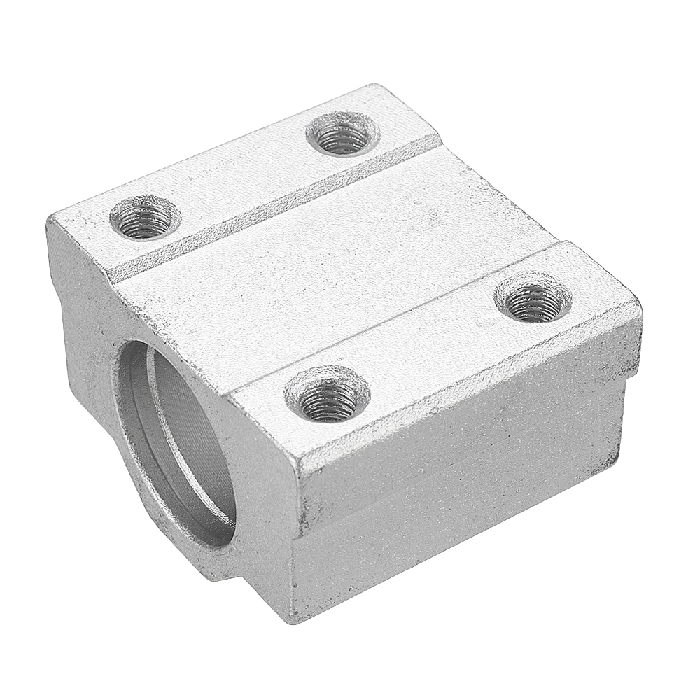 Machifit 10mm Slide Bushing Block With 2 Bearings for No Power Spindle Assembly Small Lathe Accessories