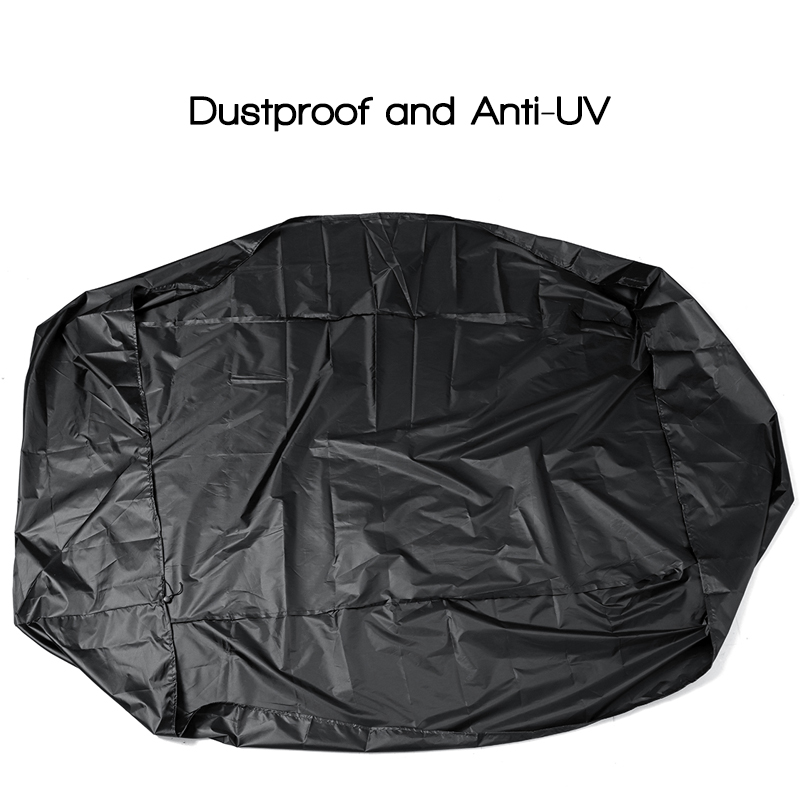 7.5ft-17ft Length Inflatable Rib Boat Dinghy Waterproof Cover Dustproof Anti-UV Protector