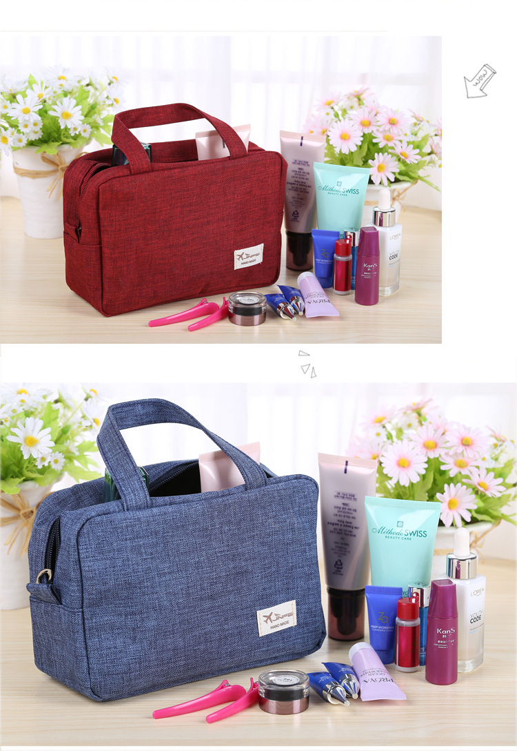 Honana HN-TB13 Travel Toiletry Organizer Large Cosmetic Shaving Kit Storage Bags