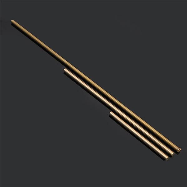 5mm Diameter 100/200/330/500mm Brass Round Bar Rod Circular Tube