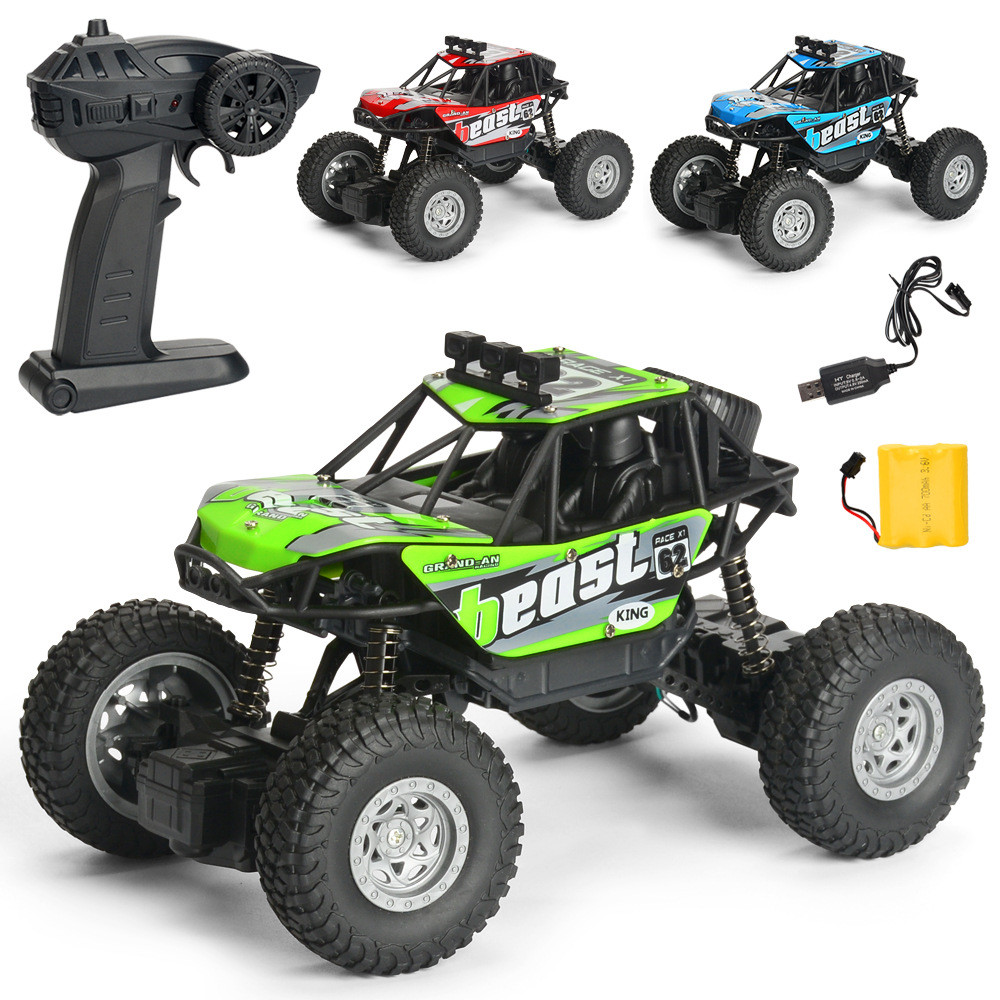1PC MG A601 1/20 2.4G 4WD 15km/h Rc Car Rock Crawler Climbing Off-road Truck RTR Toy - Photo: 5