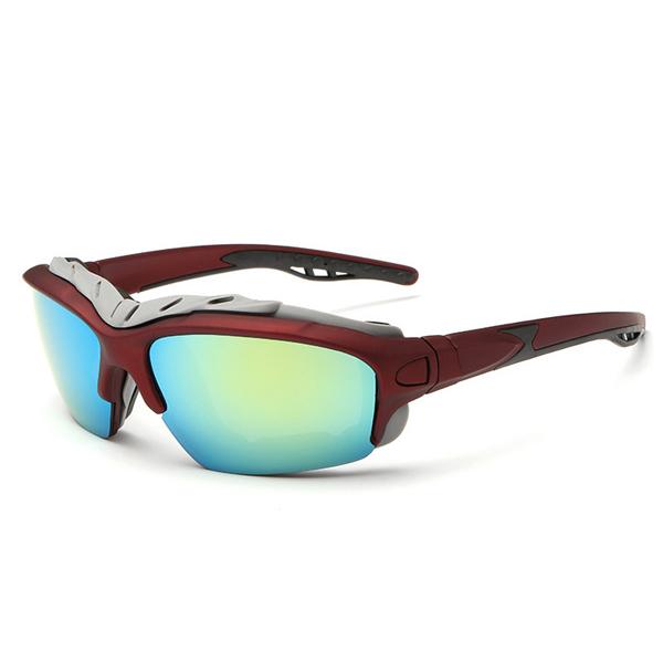 UV400 Polarized Sun Glassess Mens Cycling Bicycle Glassess