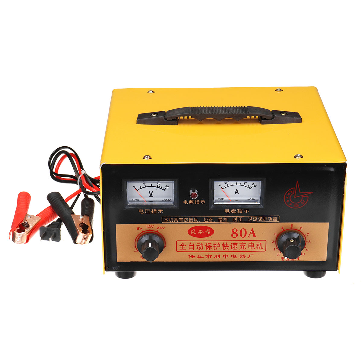 12V 24V 60A And 80A Automatic Protection Fast Charger Car Truck Motorcycle Battery Charger