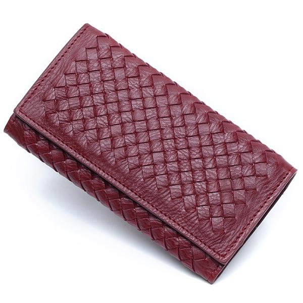 Description Item Type Woven Long Wallet Material PU Leather Color Burgundy, Purple, Light Blue, Dark Blue, Light Blue, Gray, Blue Weight 150g Length 18cm (7.09'') Height 9cm (3.54'') Width 2cm (0.79'') Pattern Solid Inner Pocket 9 Card Place, 5.5'' Phone #purse