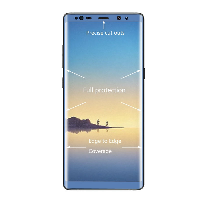 Enkay 0.26mm 3D Curved Edge Tempered Glass Screen Protector For Samsung Galaxy Note 8
