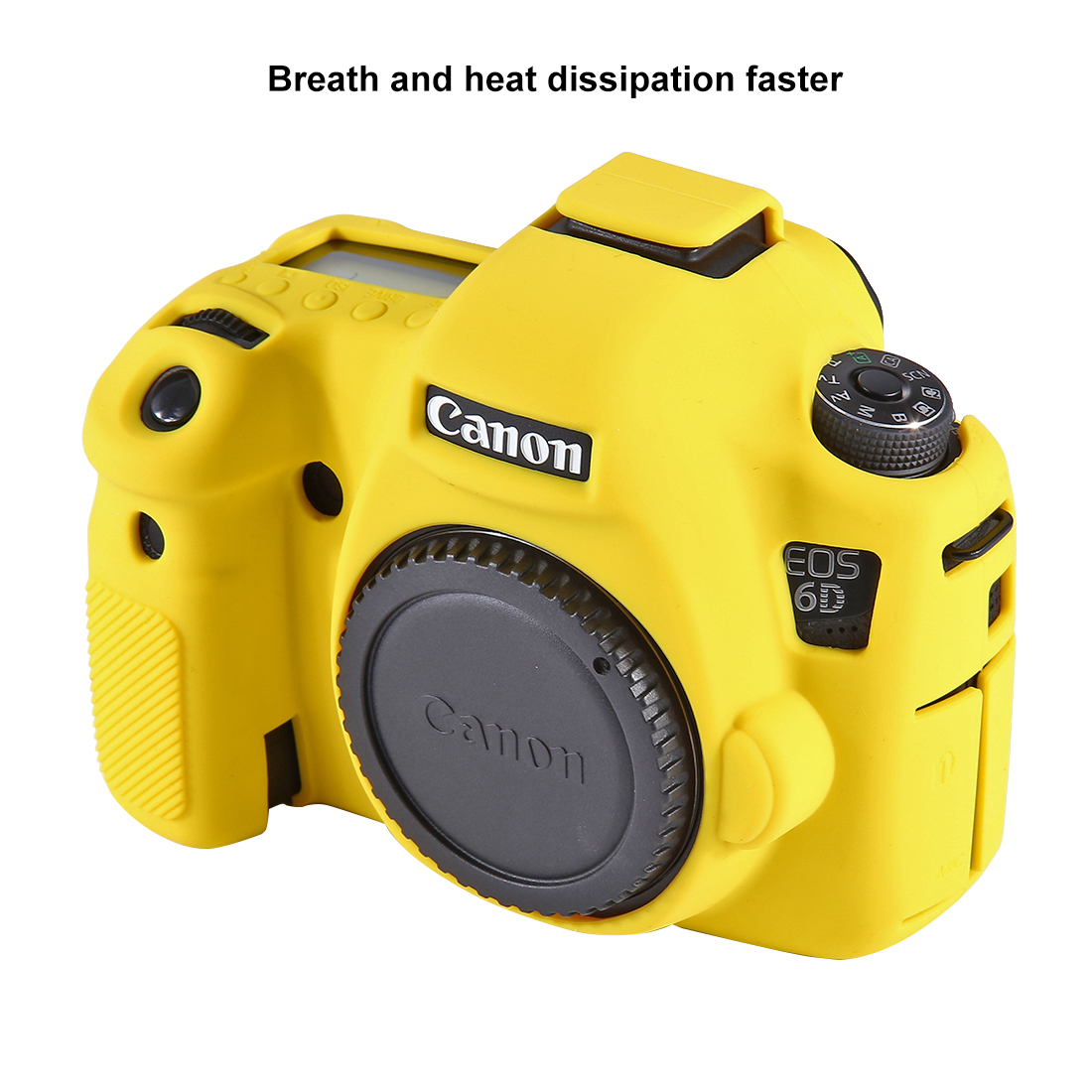 PULUZ PU7101 Soft Silicone Protective Case for Canon EOS 6D DSLR Camera