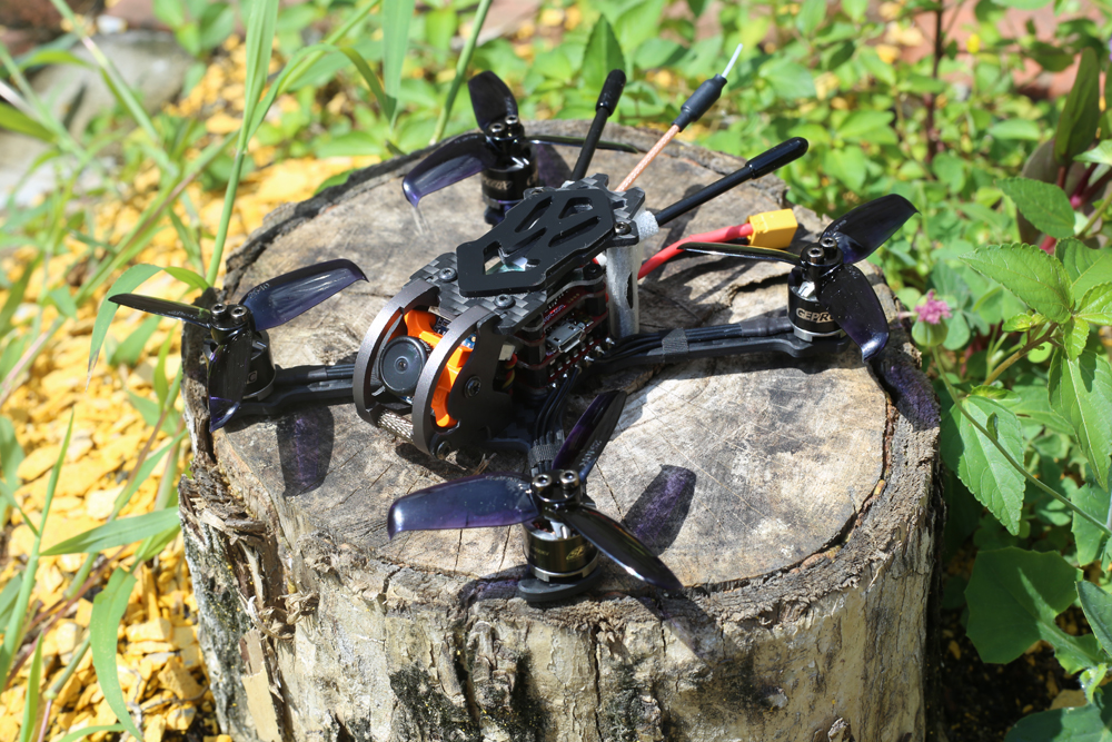 GEPRC GEP-Phoenix 125mm FPV Racing Drone BNF/PNP Omnibus F4 RunCam Micro Swift 600TVL Camera - Photo: 8