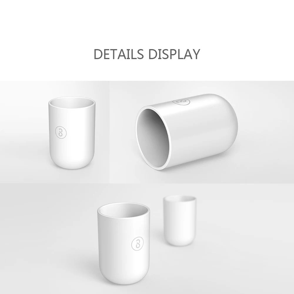 Xiaomi SOOCAS Toothbrush Tumbler Holder Tooth Mug Toothpaste Cup Bath Travel PP Rinsing Cup Wash Bathroom Tool