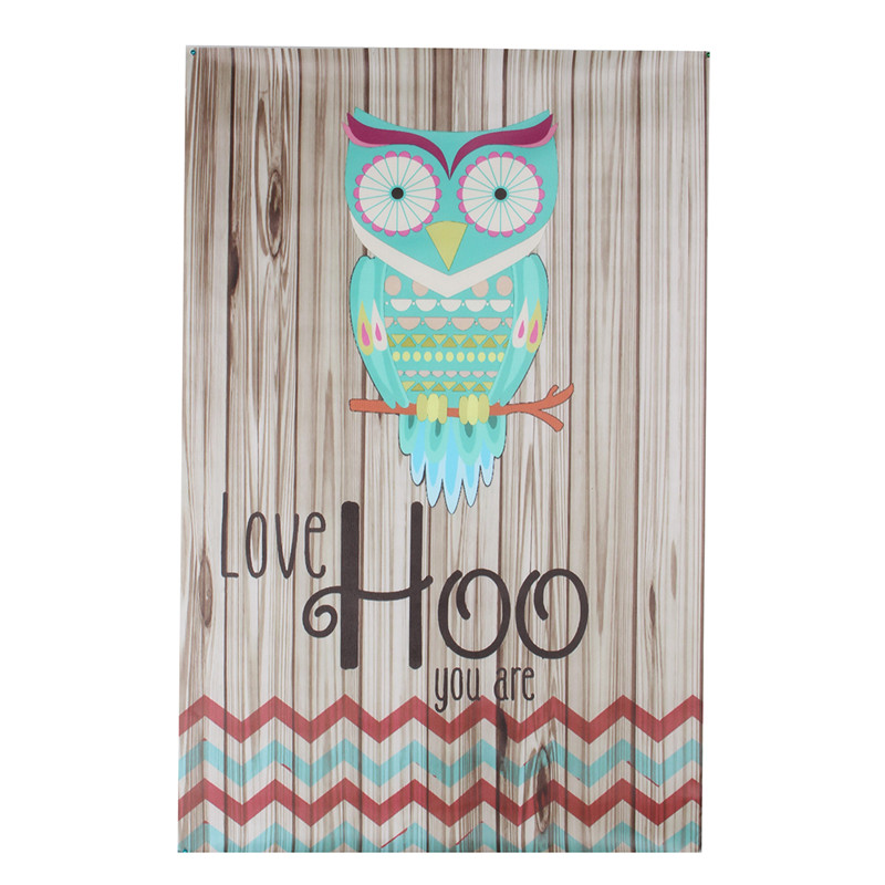 Unframed Canvas Print Home Decor Love Hoo Owl Wall Art Painting Picture Decoration
