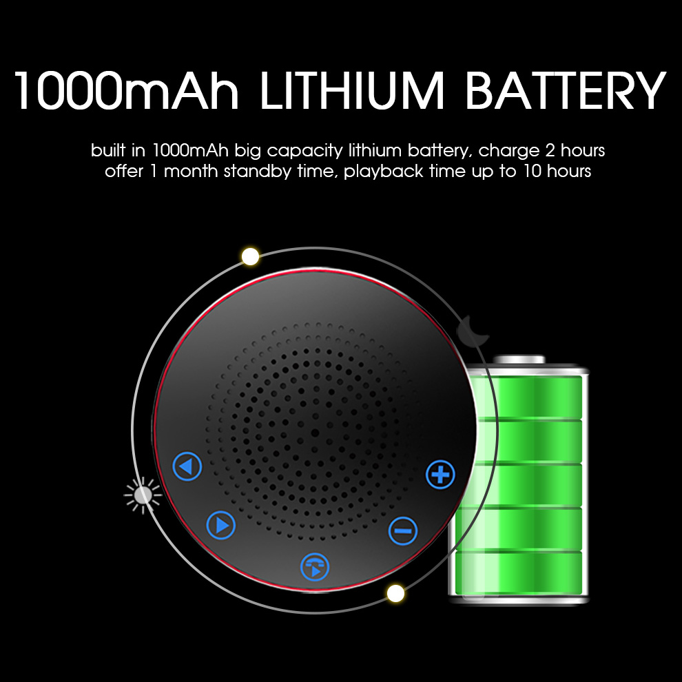 Zealot S19 Mini Portable Wireless bluetooth Speaker Touch Control USB Play TF Card Bass Subwoofer