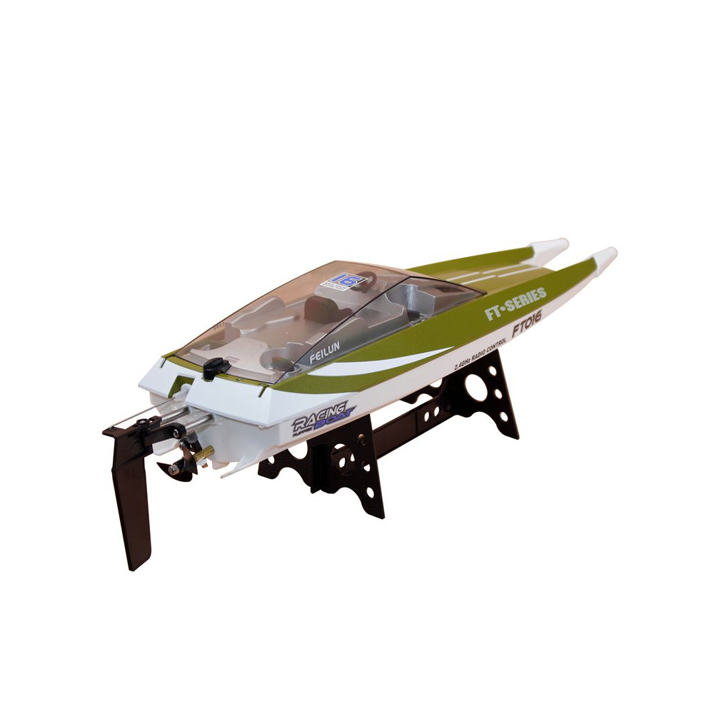 Feilun FT016 47CM 2.4G 4CH Rc Boat 540 Brushed 28km/h High Speed With Water Cooling System Toy - Photo: 10