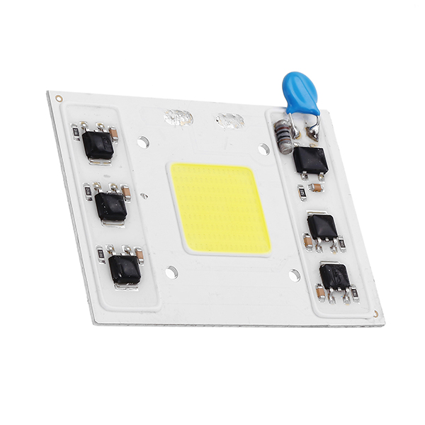 50W 4750LM White/Warm White COB Bead LED Chip Light for Smart IC Floodlight Street Lamp AC220V