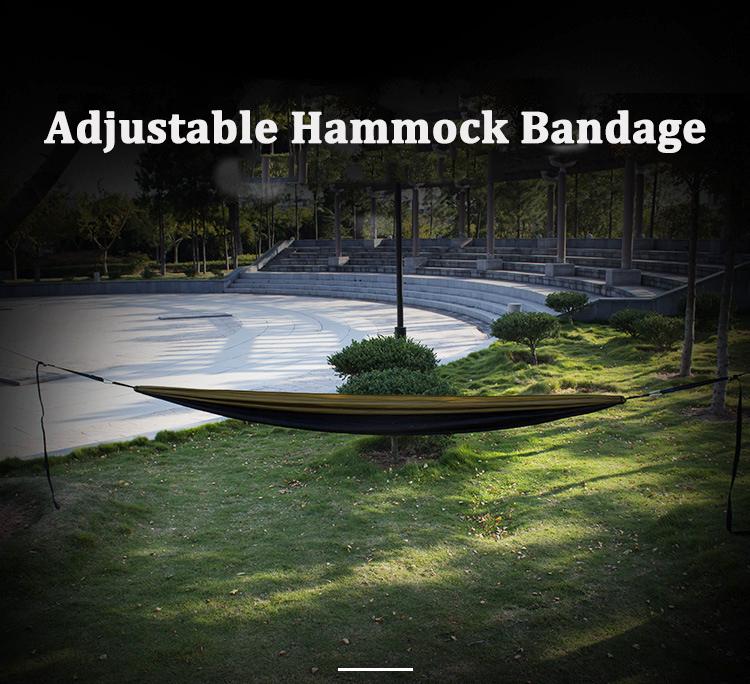 3M Outdoor Nylon Hammock Bandage Adjustable Extended Hanging Strap Rope Max Load 400kg