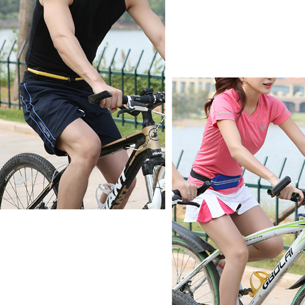 Unisex Sport Jogging Pouch Outdoor Runing Hidden Bag Thermos 5.5