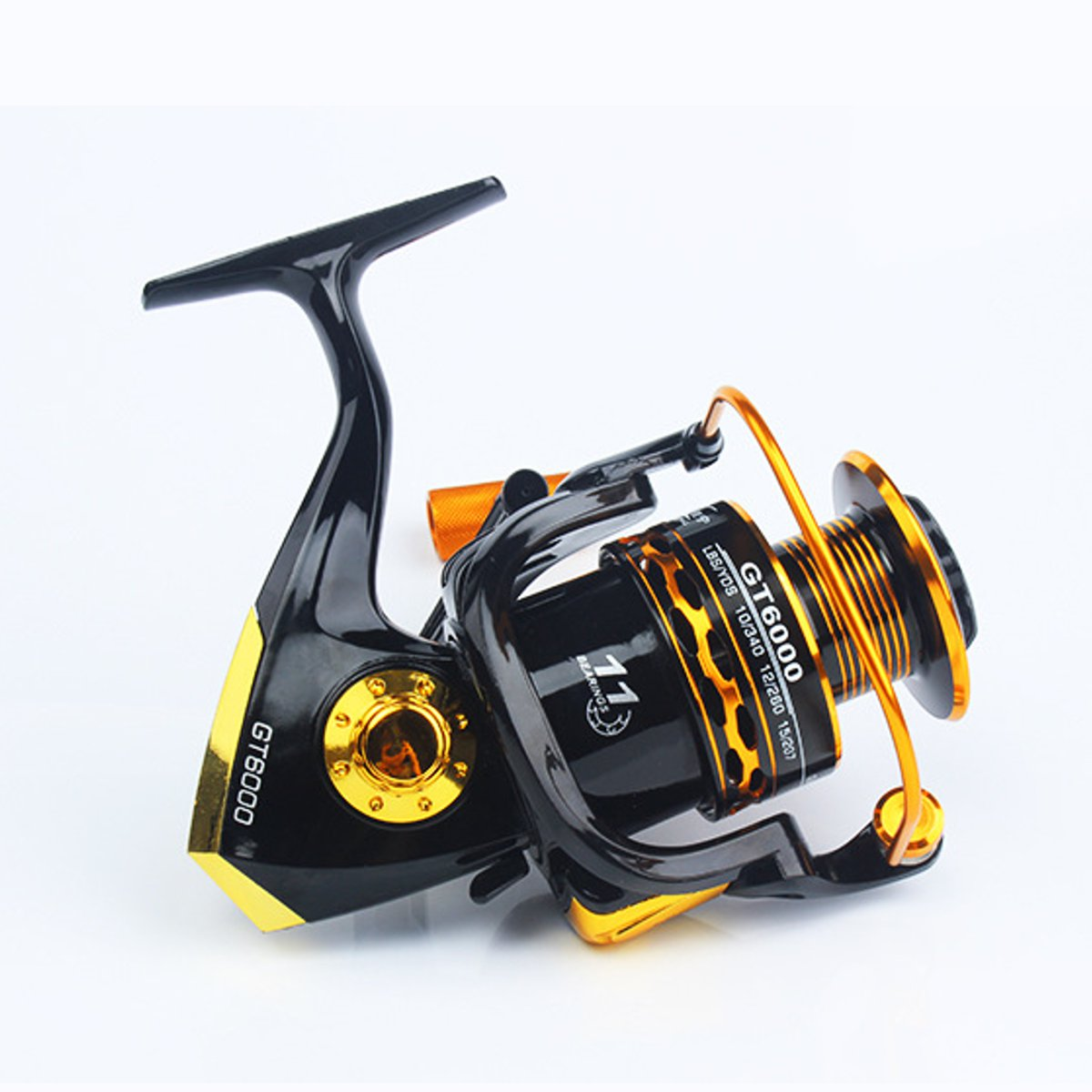 ZANLURE Metal+Plastic 4000-6000 Spinning Fishing Reel Salwater Freshwater Fishing Reel