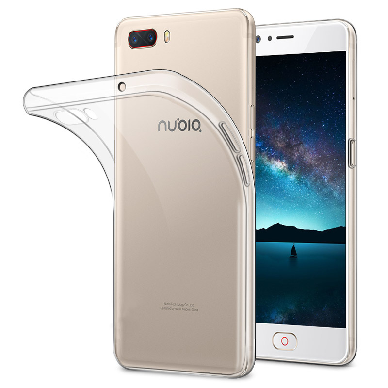 Bakeey Soft TPU Case+Tempered Glass Screen Protector for Nubia M2