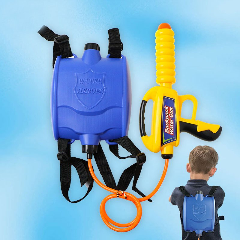 Cikoo Child Backpack Water Gun Toy Spray Water Summer Outdoor Adult Boy Girl Play Water Beach Play Toys
