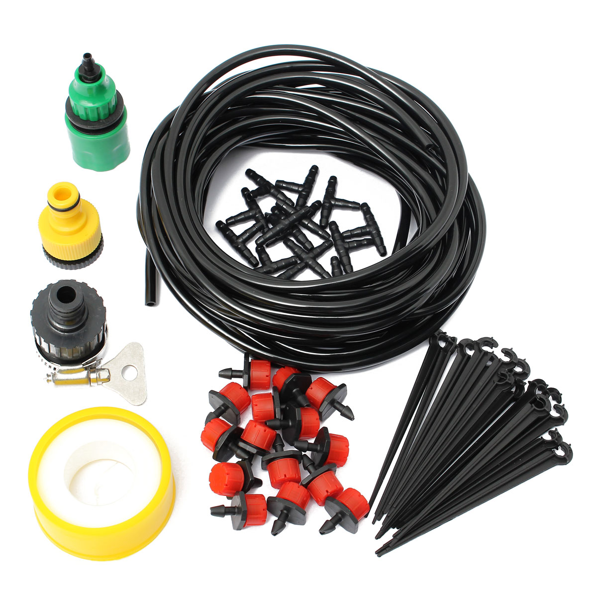 10m 32.8ft micro drop irrigation system atomization micro sprinkler cooling suite title=10m 32.8ft micro drop irrigation system atomization micro sprinkler cooling suite