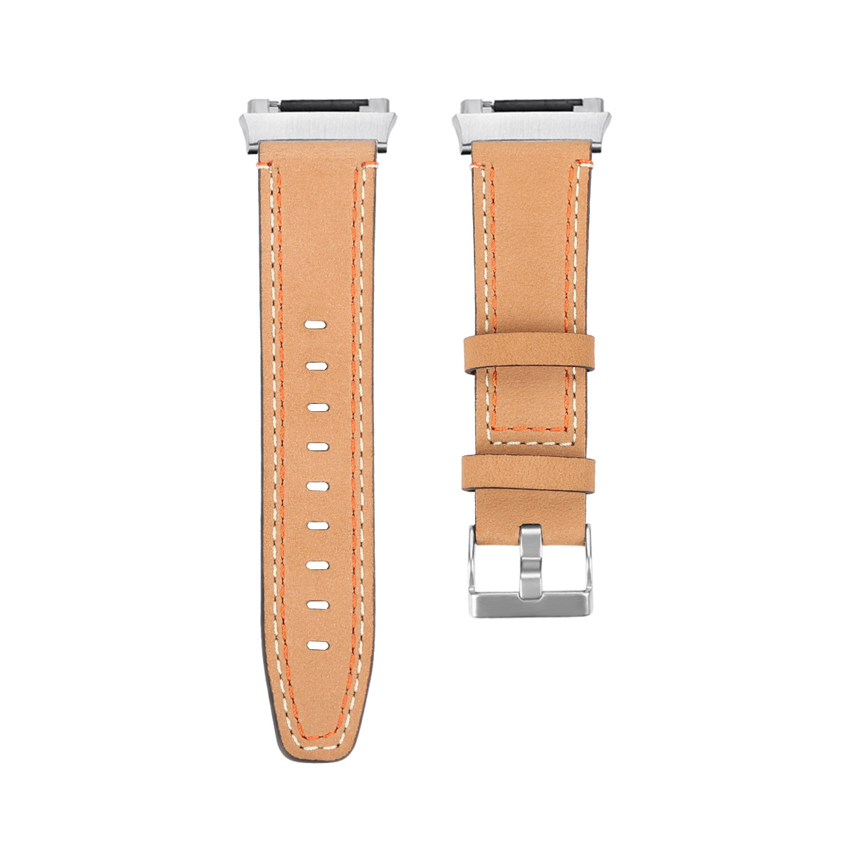 Leather Watch Band Replacement Wrist Strap for Fitbit i