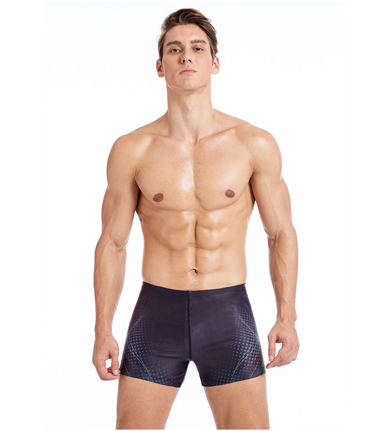 SOBOLAY S-5144 Outdoor Sports Beach Quick-drying Sun Proof Bag Size Men Swimming Trunks Swimsuit