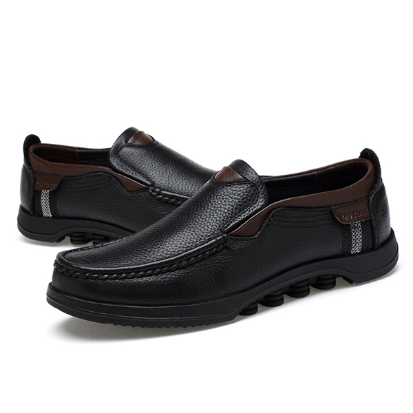 Menico Large Size Soft Leather Flats