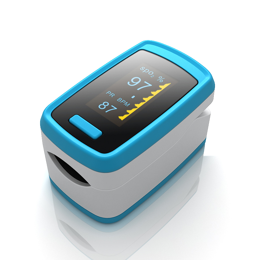 AS-302 OLED Durable Pulse Oximeter Blood SpO2 PR Heart Rate Monitor