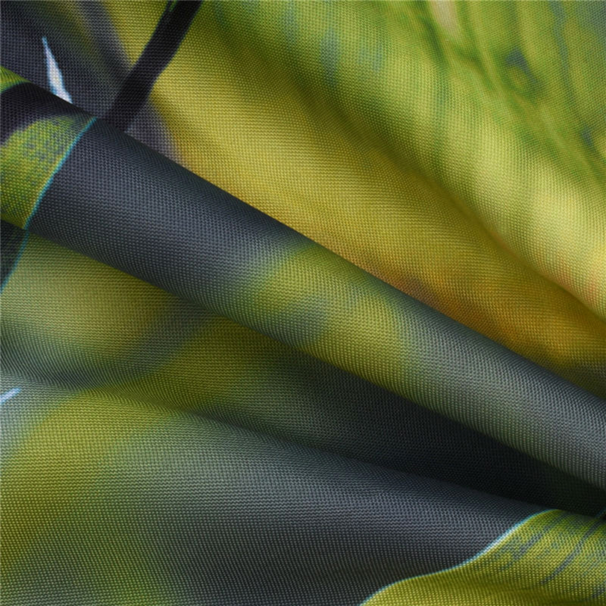 Zen Bamboo Fabric Shower Curtain Spa Stones Tranquility Bathroom Decor Polyester